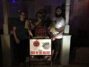 October Ghoul Yards of the Month